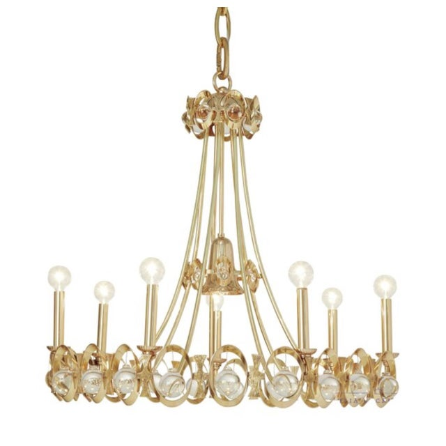 Metal Global Views Modern Jewel Tangle Chandelier For Sale - Image 7 of 7