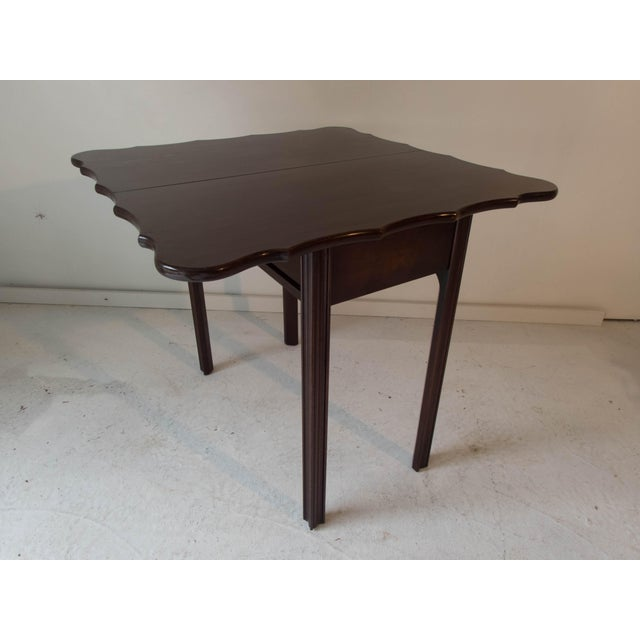 Vintage Mahogany Game Table - Image 5 of 7