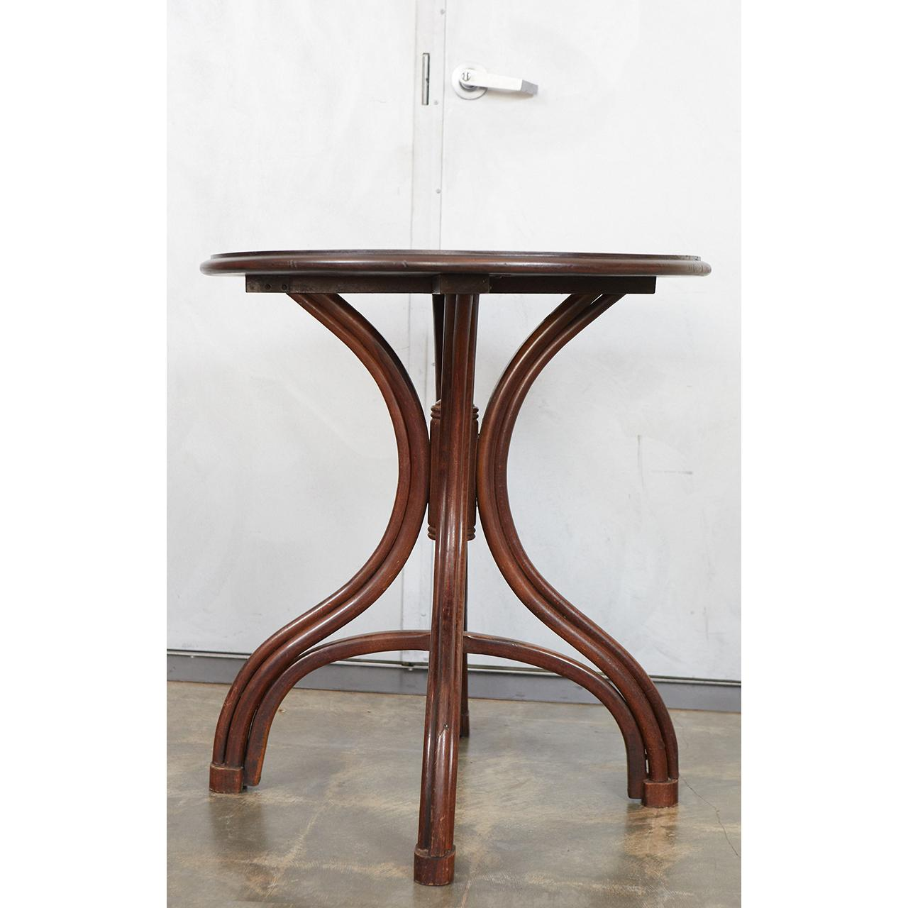 Thonet Thonet Bentwood Side Table For Sale   Image 4 Of 8