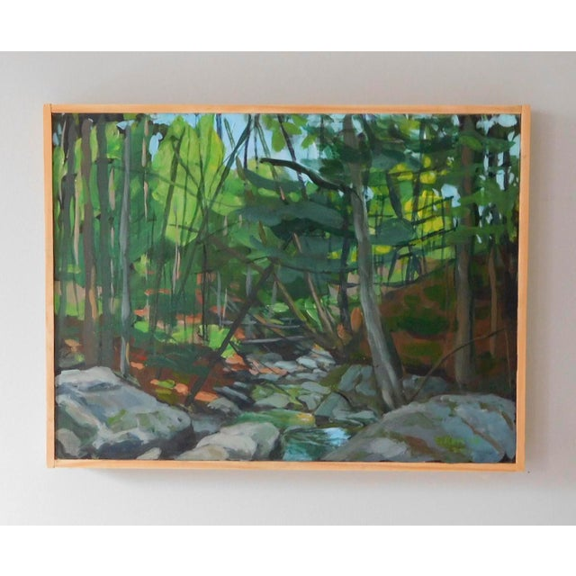 """Mountain Stream"" Plein Air Painting by Stephen Remick - Image 3 of 6"