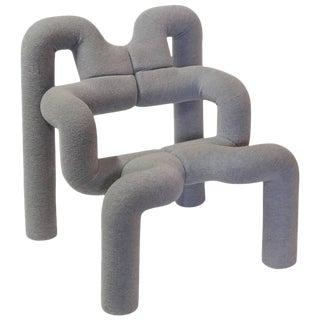 "Sculptural ""Ekstrem"" Lounge Chair by Terje Ekström"