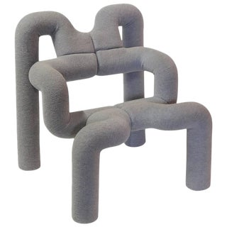 """Vintage Terje Ekström Sculptural """"Ekstrem"""" Lounge Chair For Sale"""