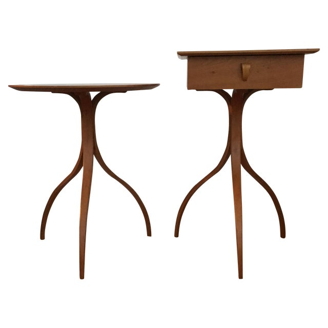 Thomas Stender Modulus Side Tables - A Pair For Sale