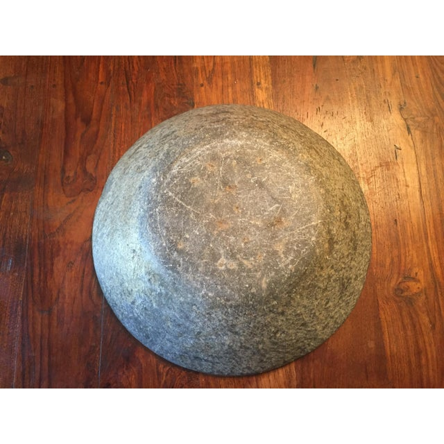 Old Grey Marble Bowl - Image 5 of 7