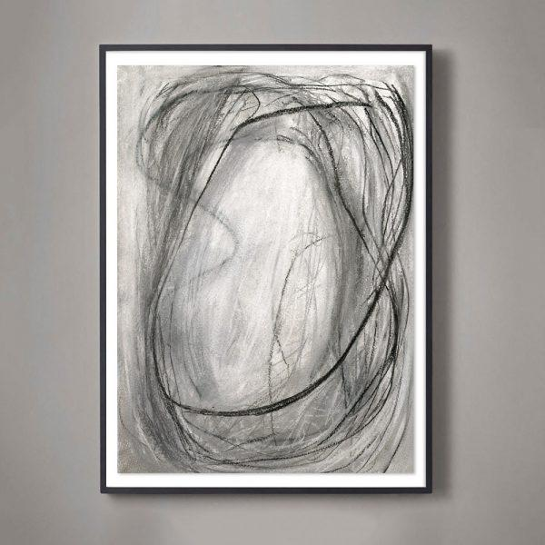 The Infinity Drawings edition is a near-monochromatic series of pastel drawings that manage to be both active and serene....