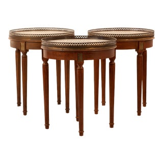 Early 20th Century Bouillotte Tables - Set of 3 For Sale