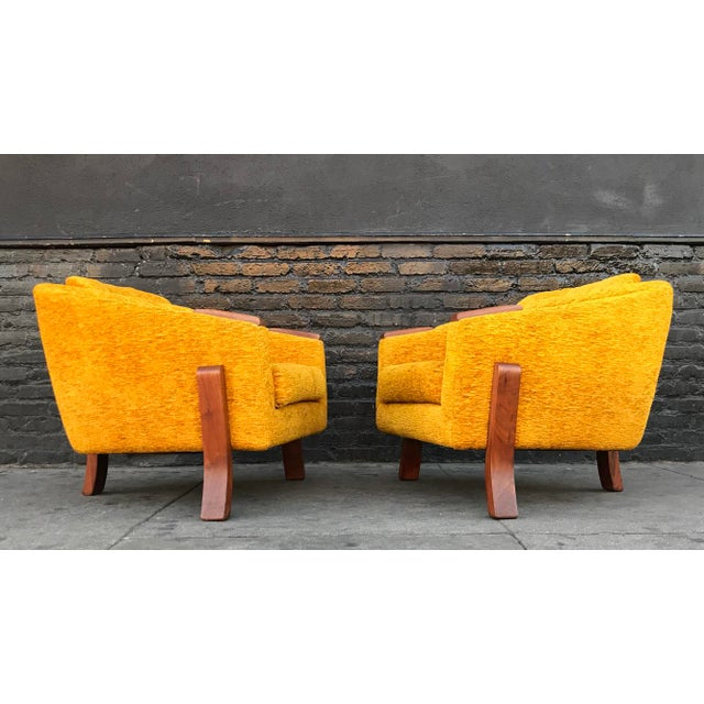 1960s Mid Century Lounge Chairs by Chelmode Furniture - A Pair For Sale - Image 5 of 13