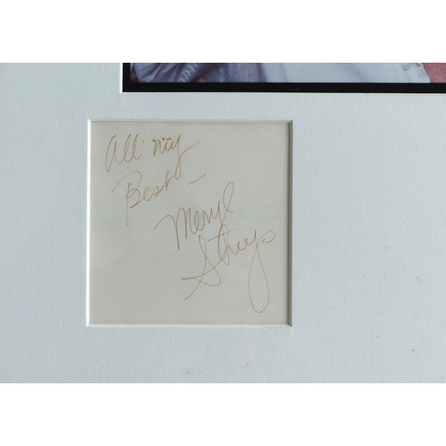 1980s 1981 Annie Leibovitz Photograph of Meryl Streep,Signed by Both, Numbered 4/40 For Sale - Image 5 of 11