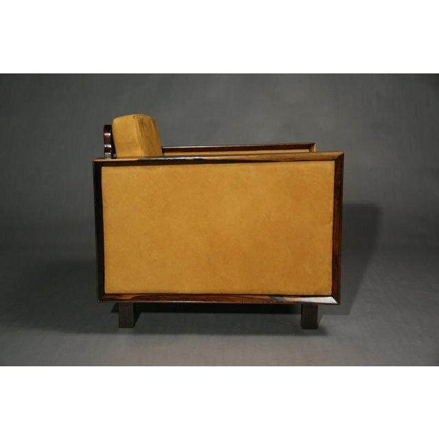 Joaquim Tenreiro Mid-Century Modern Rosewood Chairs For Sale - Image 4 of 11