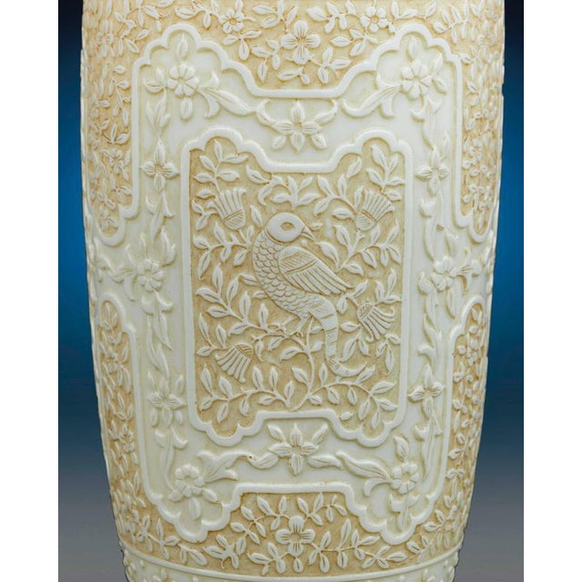 Mid 19th Century Cameo Glass Vases by Webb For Sale - Image 5 of 8