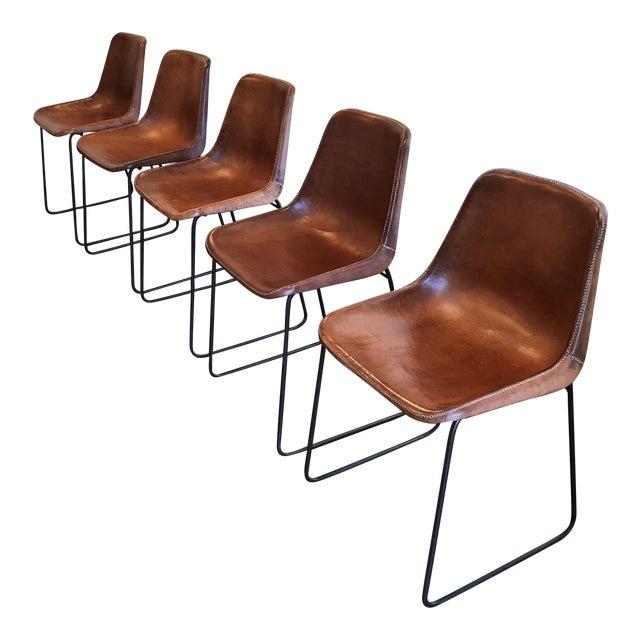 Jayson Home Leather Fernando Dining Room Chair