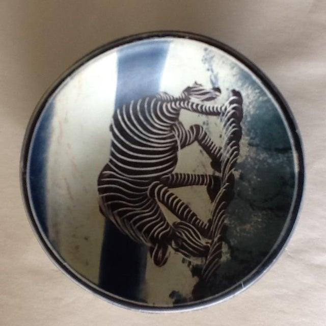 African Zebra Trinket Tray - Image 10 of 11