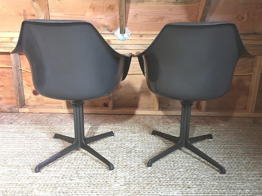 Mid Century Vintage Burke Tulip Chairs   Set Of 8   Image 4 Of 11