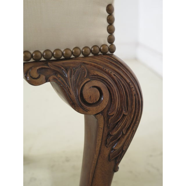 1990s Vintage Karges Georgian Style Ball & Claw Dining Room Chairs- Set of 8 For Sale - Image 10 of 13