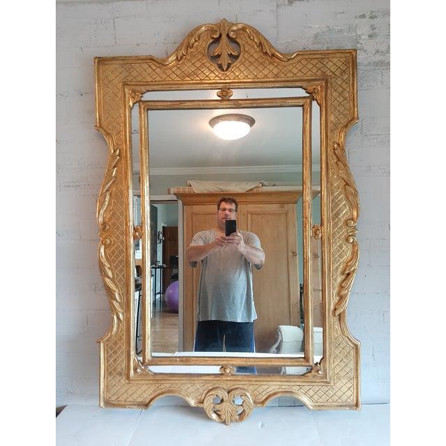 Italian Florentine Gilt Wood Mirror For Sale In Milwaukee - Image 6 of 10