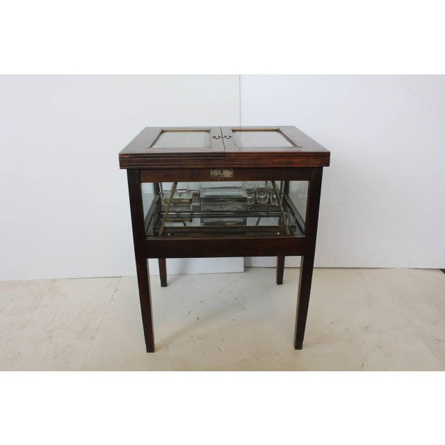 Rare Art Deco Austrian Bar Cart - Image 2 of 2