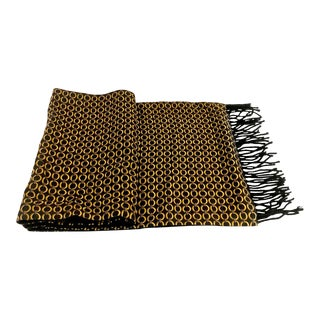 Custom Men's Silk and Cashmere Dress Scarf For Sale
