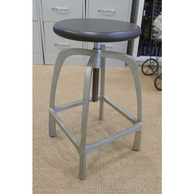 Modern Beckett Counter Stools - A Pair For Sale - Image 3 of 7