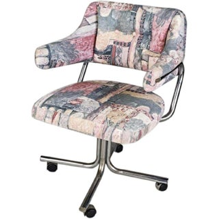 Designer Swivel Upholstered Office Chair Preview