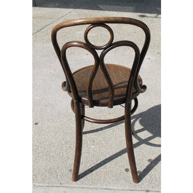 Metal Mundus and J J Kohn Ltd Bentwood Chairs - Set of 6 For Sale - Image 7 of 12