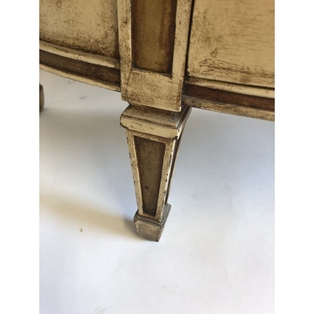 18th Century Style Demilune Cabinet For Sale In Los Angeles - Image 6 of 12