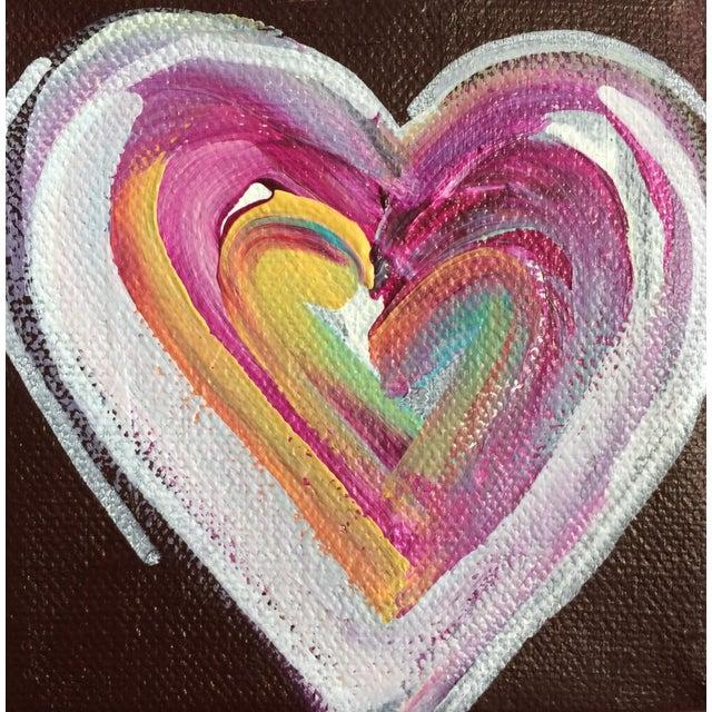 'Chocolate Heart' Original Painting by Linnea Heide - Image 1 of 5