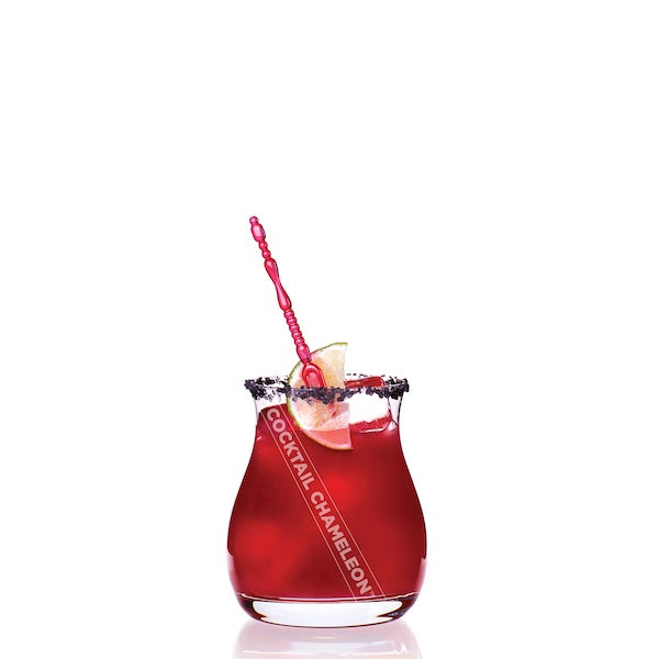 Minimalism 'Pomegranate Margarita' Limited-Edition Cocktail Portrait Photography For Sale - Image 3 of 9