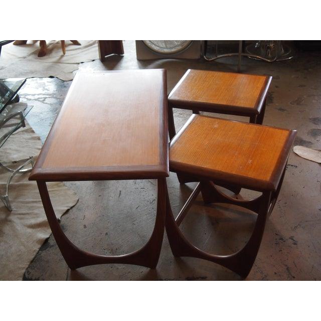 Modern Danish Style Nesting Tables- Set of 3 - Image 2 of 7