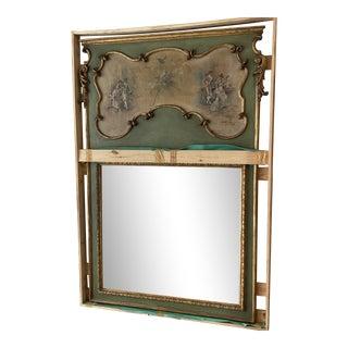 1970s Pierre Garnier Neoclassical Mirror For Sale