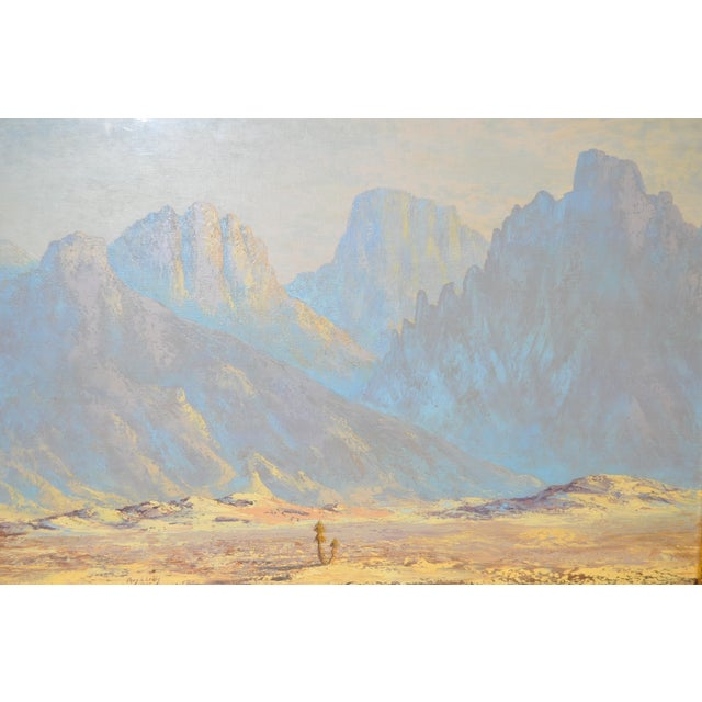 Thomas L. Lewis Taos New Mexico Landscape Painting - Image 3 of 6