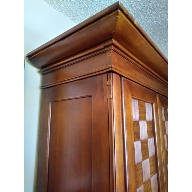 Stanley Furniture Wooden Armoire - Image 8 of 9