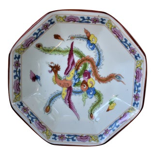 Vintage Turkish Peacock Plate For Sale
