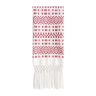 Red Chiapas Hand Towel For Sale