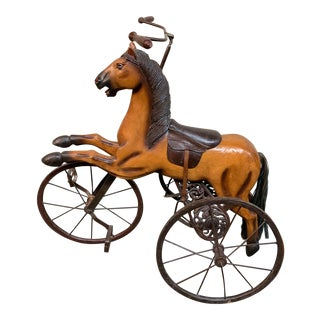 Antique Horse Tricycle For Sale