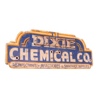 Dixie Chemical Company Hanging Sign