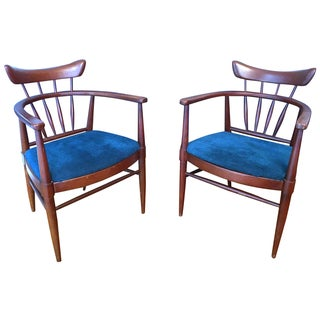 Midcentury Wormley for Drexel Chairs - a Pair For Sale