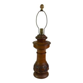Victorian Newell Post Lamp For Sale