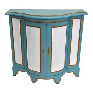 Baker-Style Demilune Cabinet