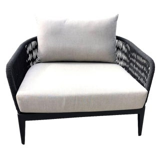 Harbour Outdoor Modern Hamilton Arm Chair For Sale