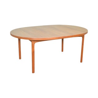 Dux Danish Modern Swedish Teak Extension Dining Table (Opens 11 Feet)