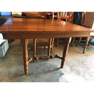 19th Century Victorian Oak Dining Table Preview