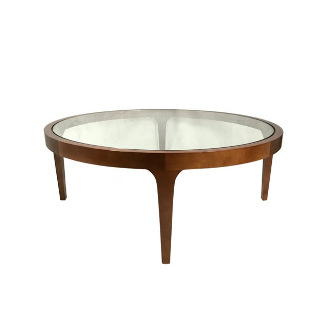 Bernhardt design round coffee table chairish Bernhardt coffee tables