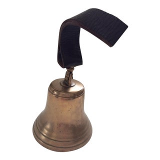 Antique Ship's Bell For Sale