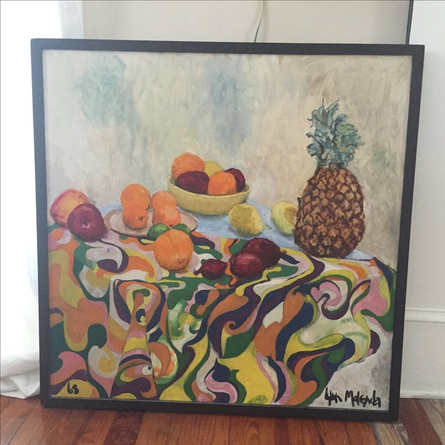 Fruit Still Life by Lynn Molenda, 1968 - Image 9 of 9