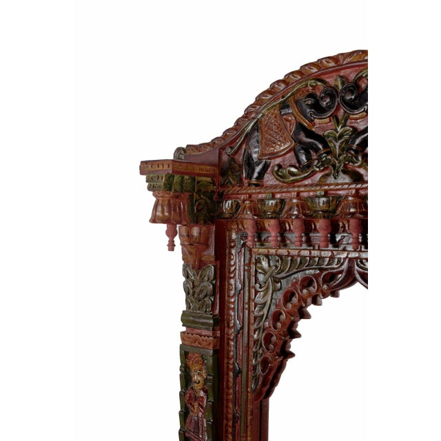 Hand Painted Royal Maharaja Mirror Frame - Image 5 of 5