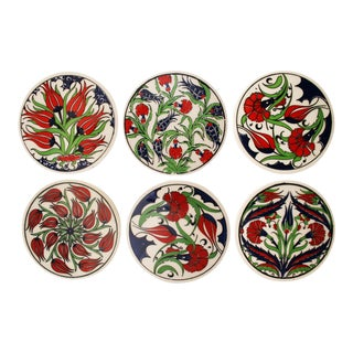 Iznik Ceramic Pottery | Assorted Floral