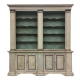 Image of 19th Century Italian Tuscan Painted Bookcase Display Cabinet For Sale