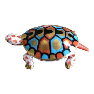 Herend Baby Turtle Figurine For Sale