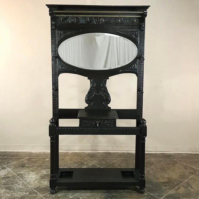 19th Century French Renaissance Hall Tree For Sale - Image 12 of 12