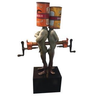 "Steven Michael Beck ""Can We Talk"" Sculpture, 2015 For Sale"